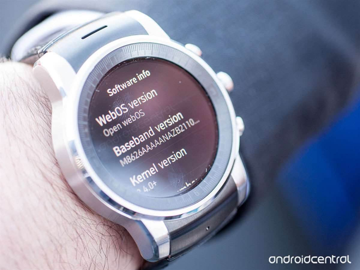 Check out LG and Audi's webOS-powered smartwatch