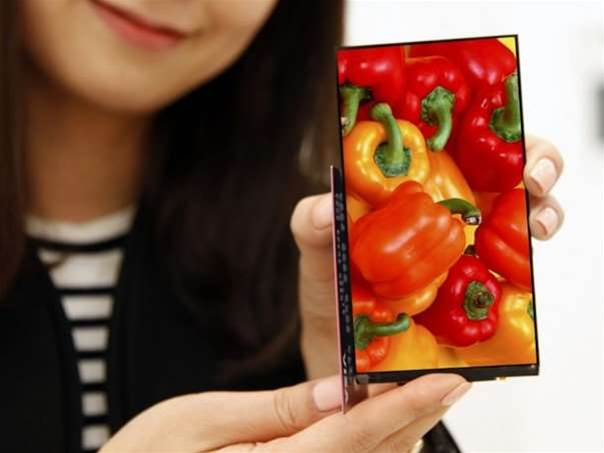 LG's new smartphone screen bezel is thinner than a credit card