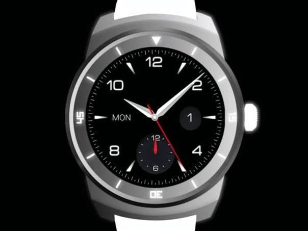 LG's circular G Watch R teased