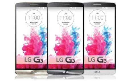 LG G3 arrives in Australian stores