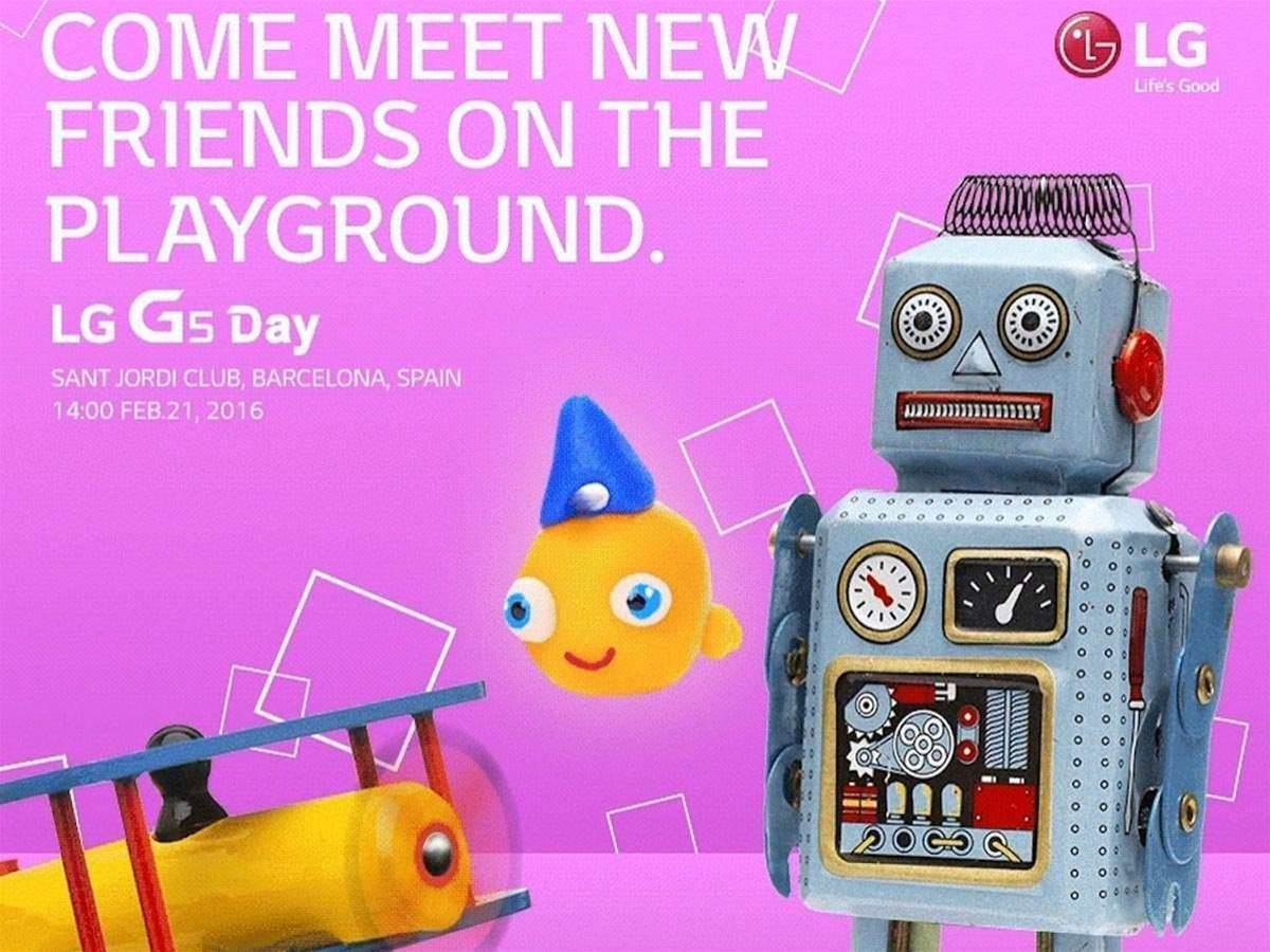 The LG G5 will be revealed on 21 February