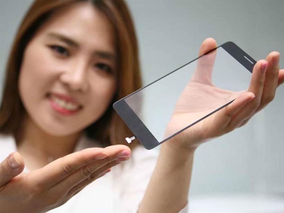 LG plans to put smartphone fingerprint sensors beneath the glass