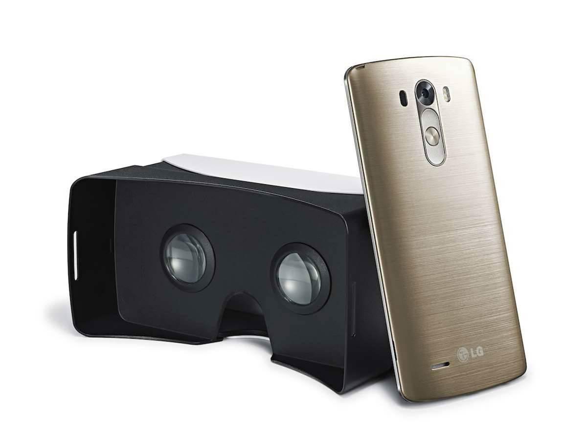 LG releasing VR headset shell for G3 based on Google Cardboard