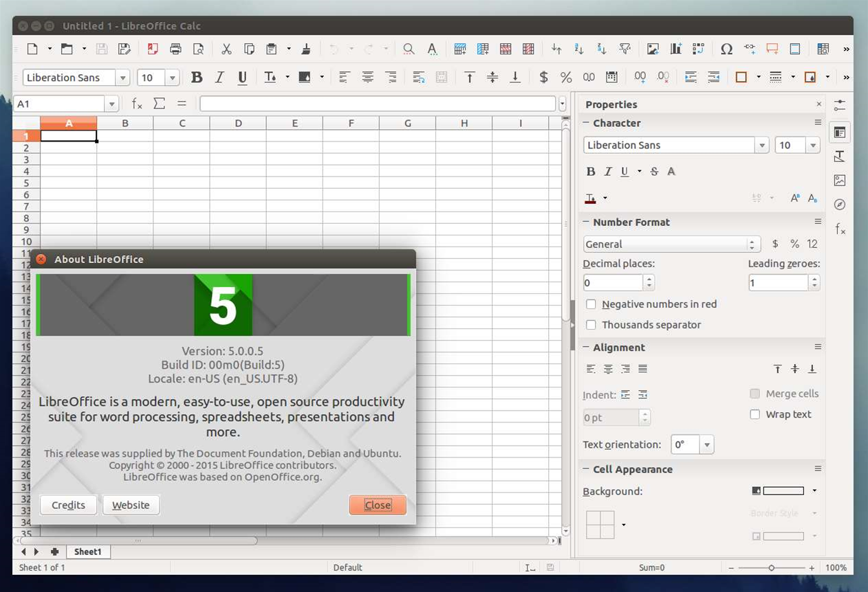 Review: LibreOffice 5