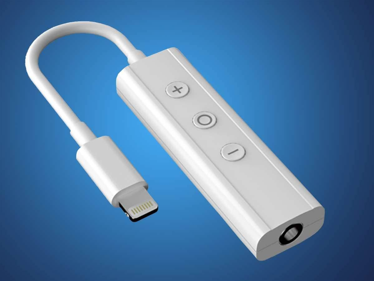 Apple's iPhone 7 Lightning to headphone adaptor had best be slicker than this chunky Chinese one