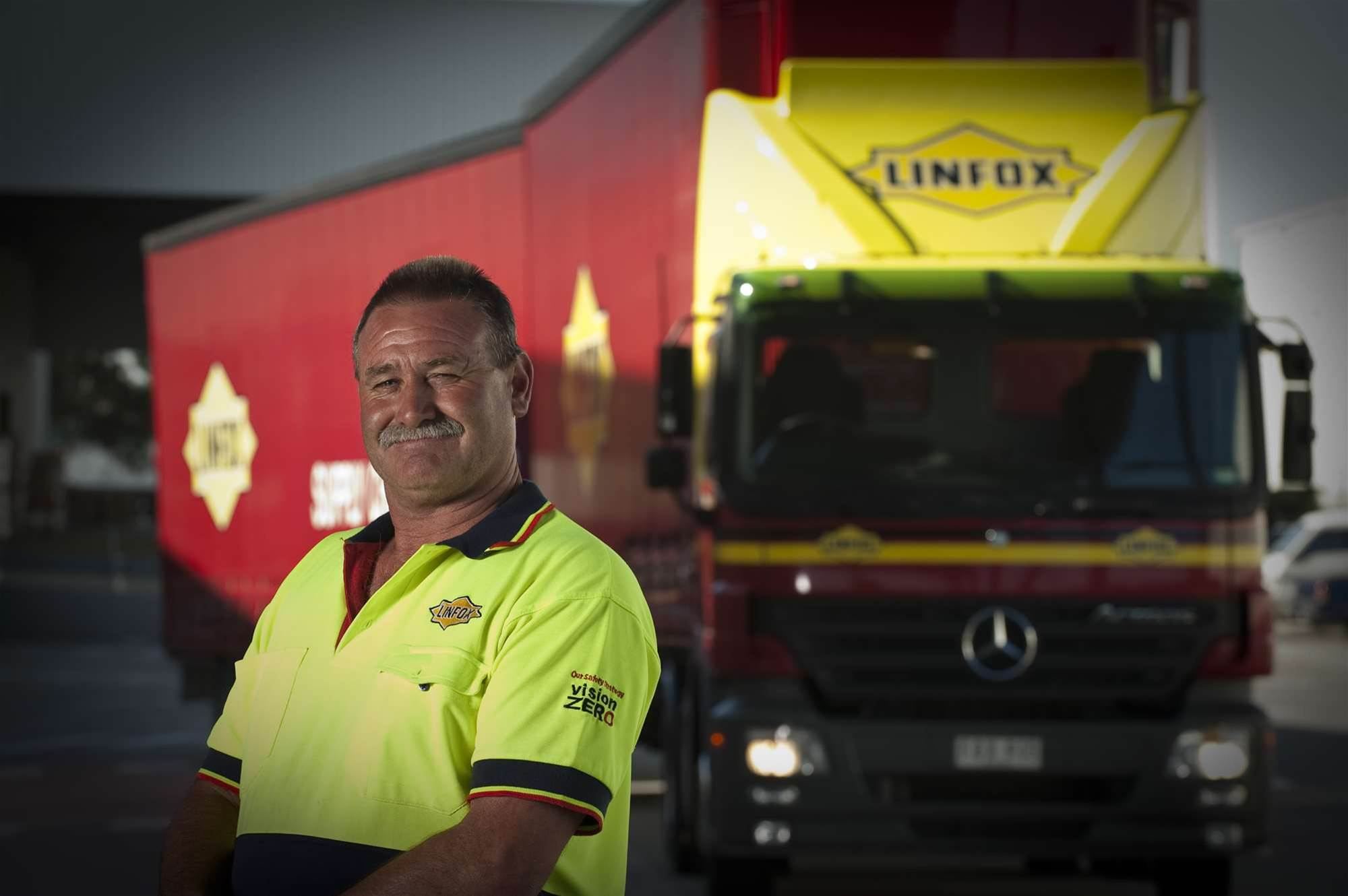 Linfox crunches big data to keep trucks on time