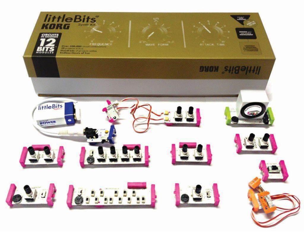 Review: littleBits/KORG Synth Kit - it ain't your grand-dad's electronics kit