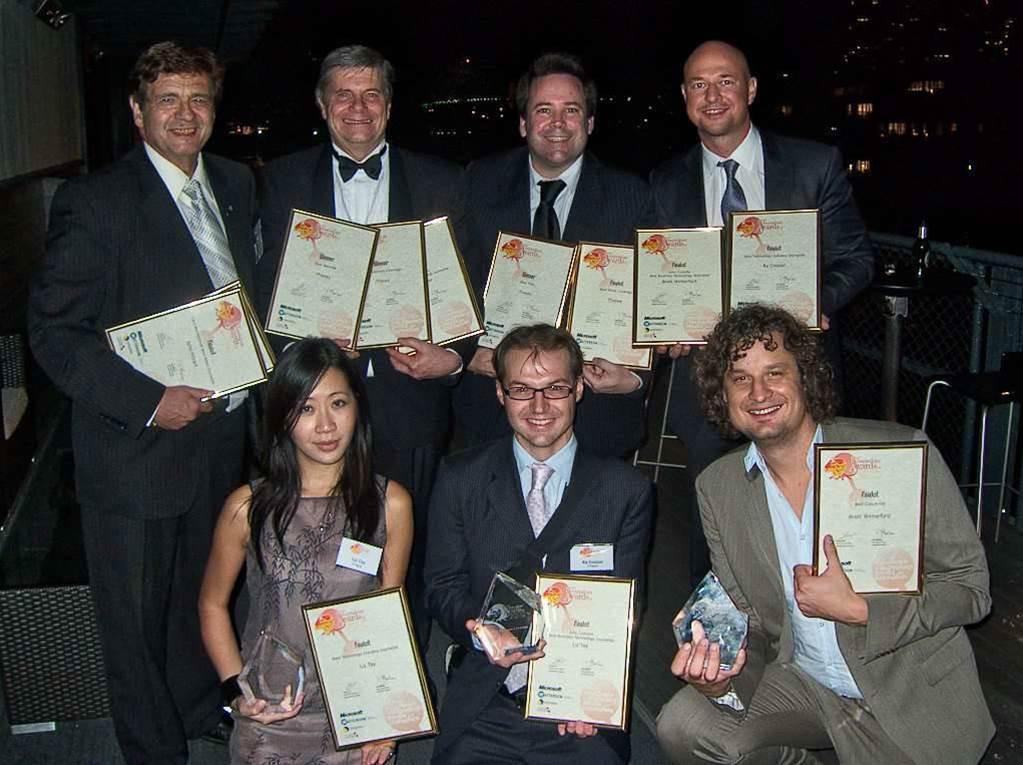 iTnews celebrates winning 'Best Title' award