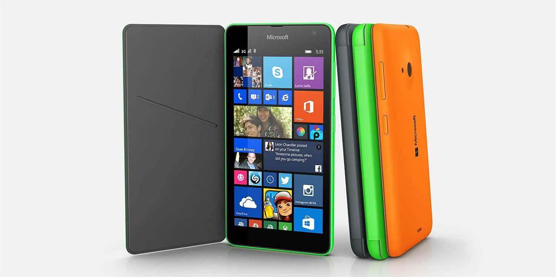 Microsoft debuts first non-Nokia Lumia phone