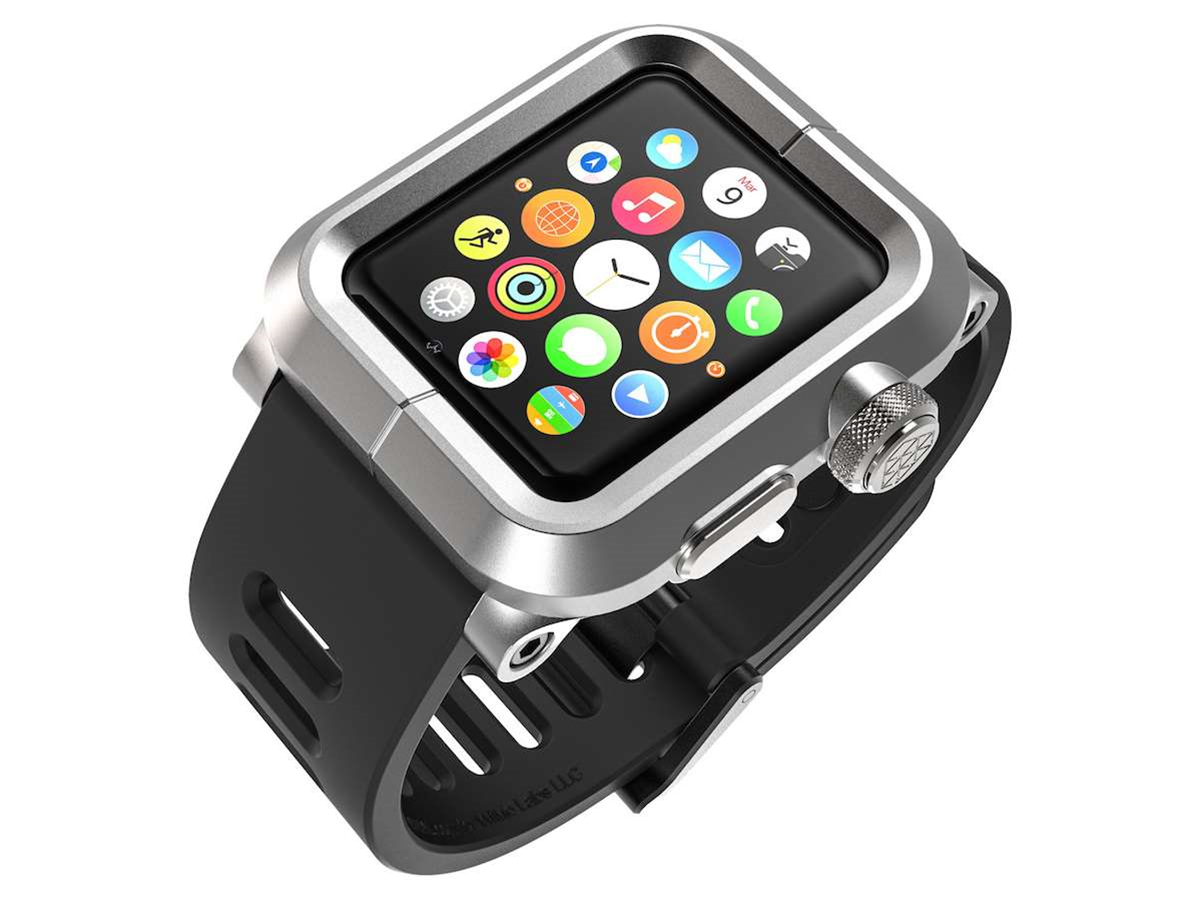 Lunatik's Epik kit puts a rugged case around your Apple Watch