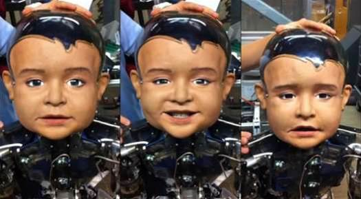 Meet Diego-San, The Humanoid Robot Toddler