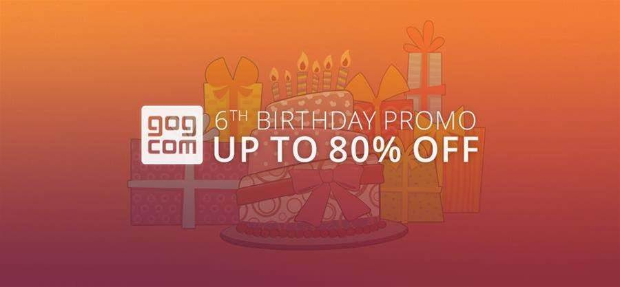 GOG.com celebrates its birthday - with a sale!