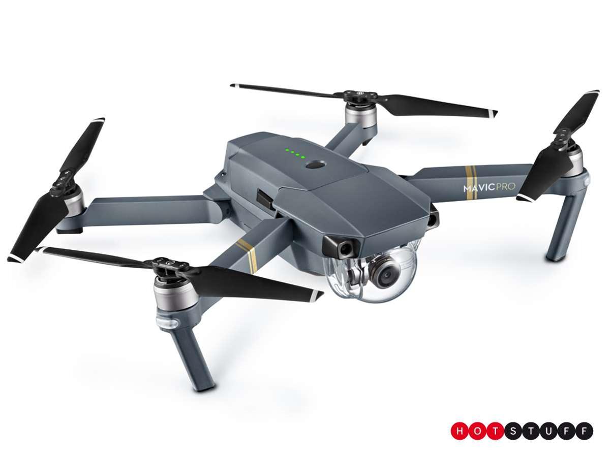 The Mavic Pro is DJI's affordable folding 4K flying machine