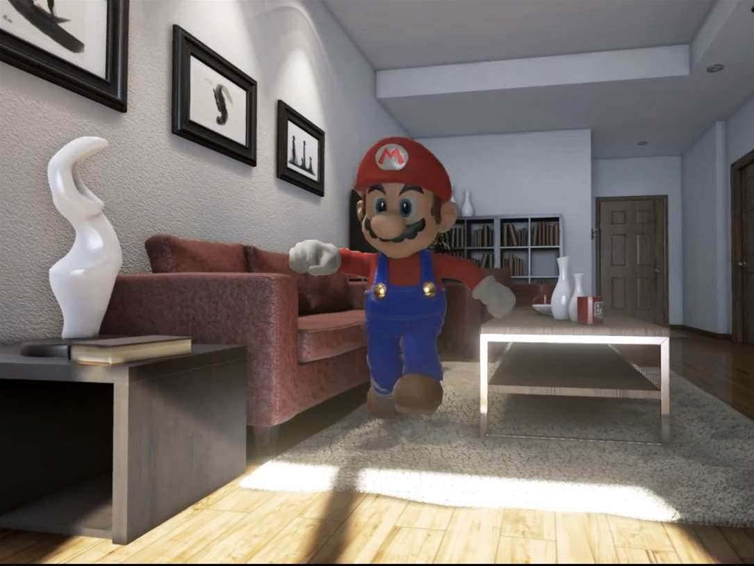 Hyper-realistic Mario is strangely compelling