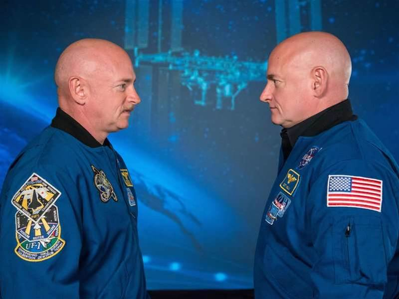 Astronaut Twins Scott And Mark Kelly Lend Their Bodies To Science