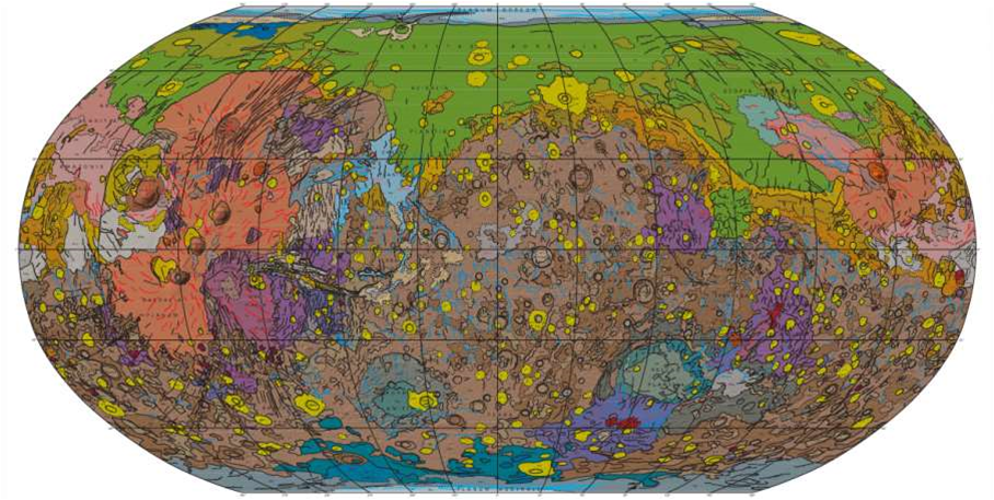 Big Pic: A Planet-Wide Map Of Martian Geology