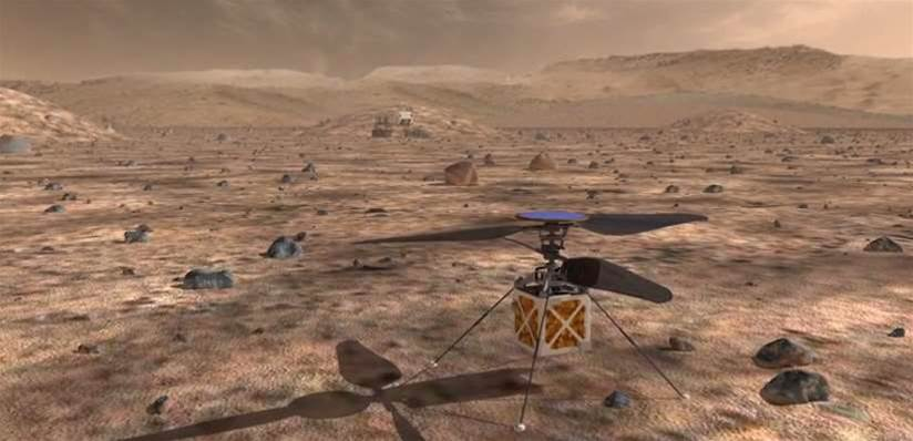 Should We Put A Drone On Mars?