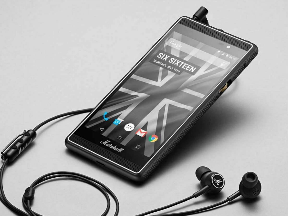Music legend Marshall reveals a music-centric Android phone