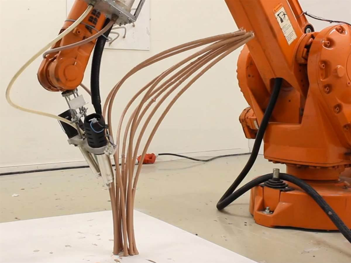 Mataerial 3D printer is a giant robot 3Doodler