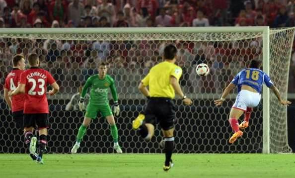Yokohama F.Marinos stun Manchester United