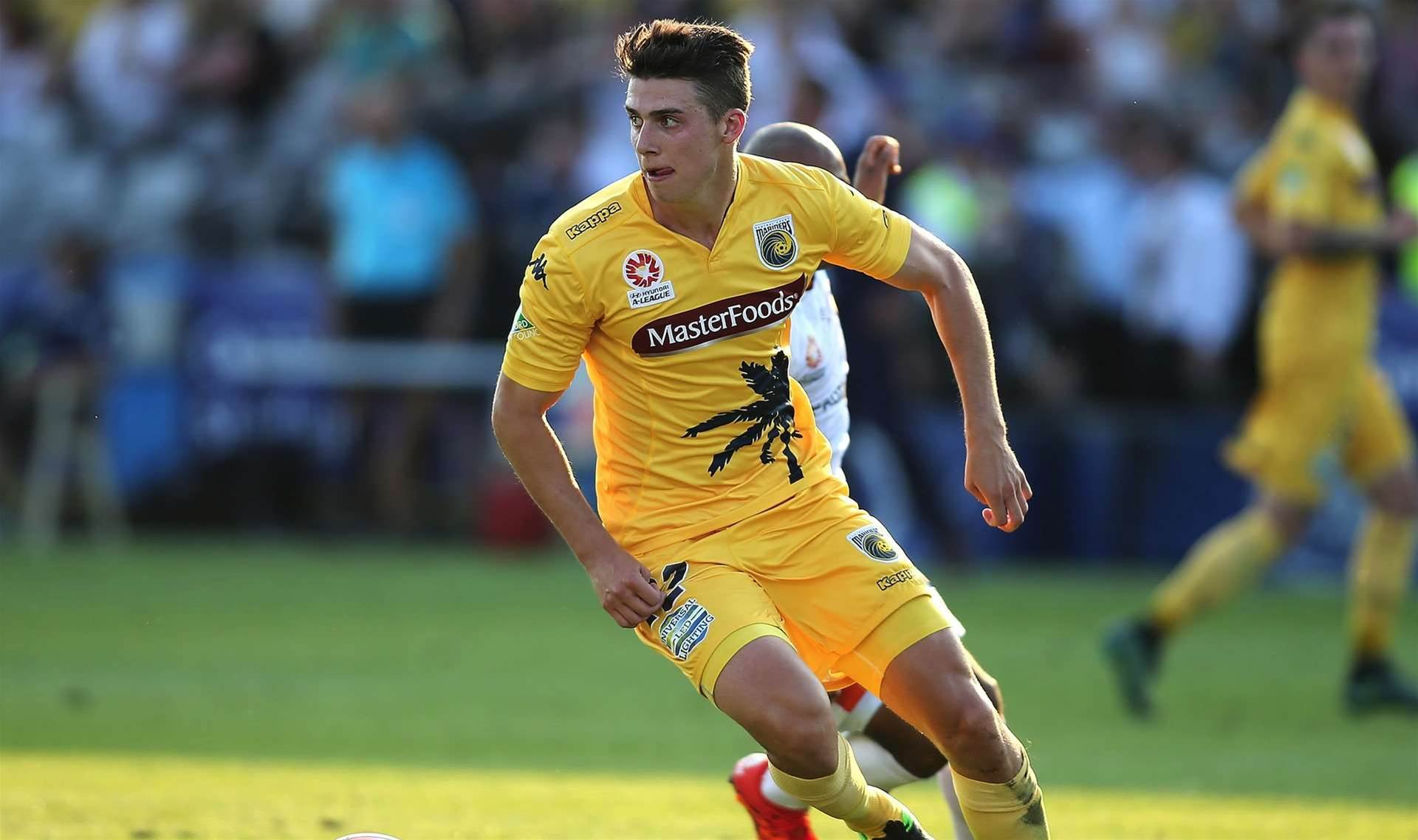 Mariners edge Young Socceroos