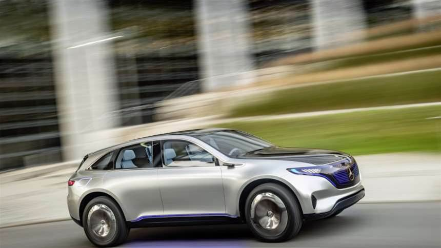 New Mercedes Generation EQ concept is the all-electric SUV of the future