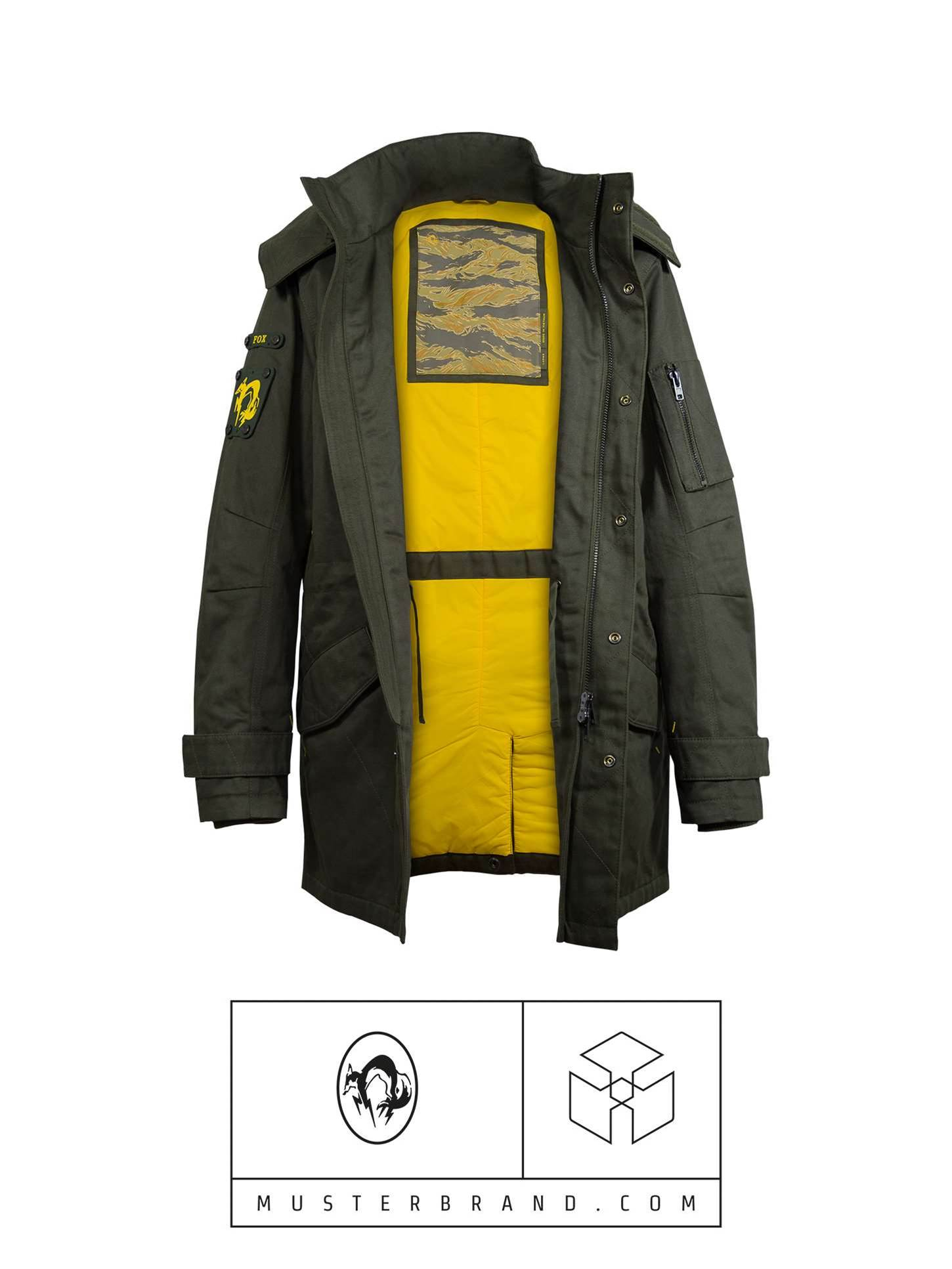 Konami announces Metal Gear Solid-inspired clothing line