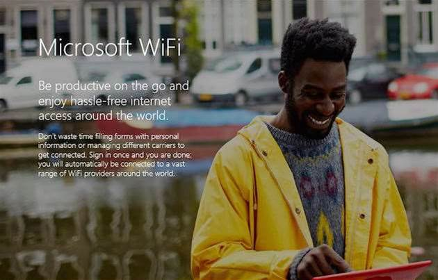 Microsoft to launch wi-fi hotspot finder