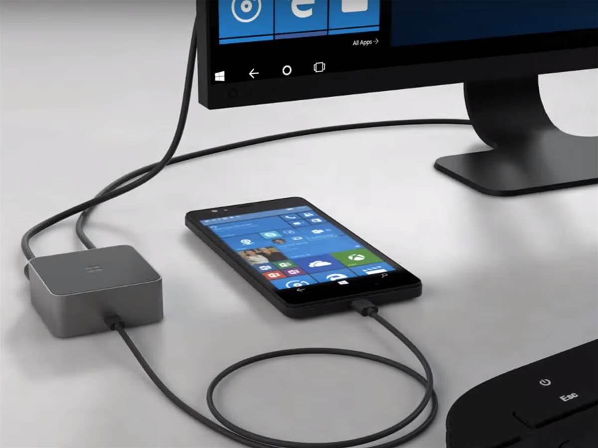 Microsoft's Display Dock turns your phone into a Windows 10 PC