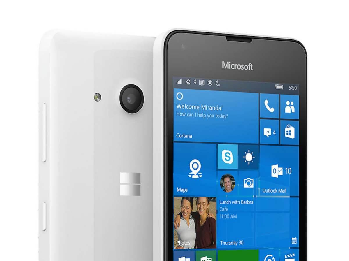 Microsoft's Lumia 550 is a cheaper alternative to the 950