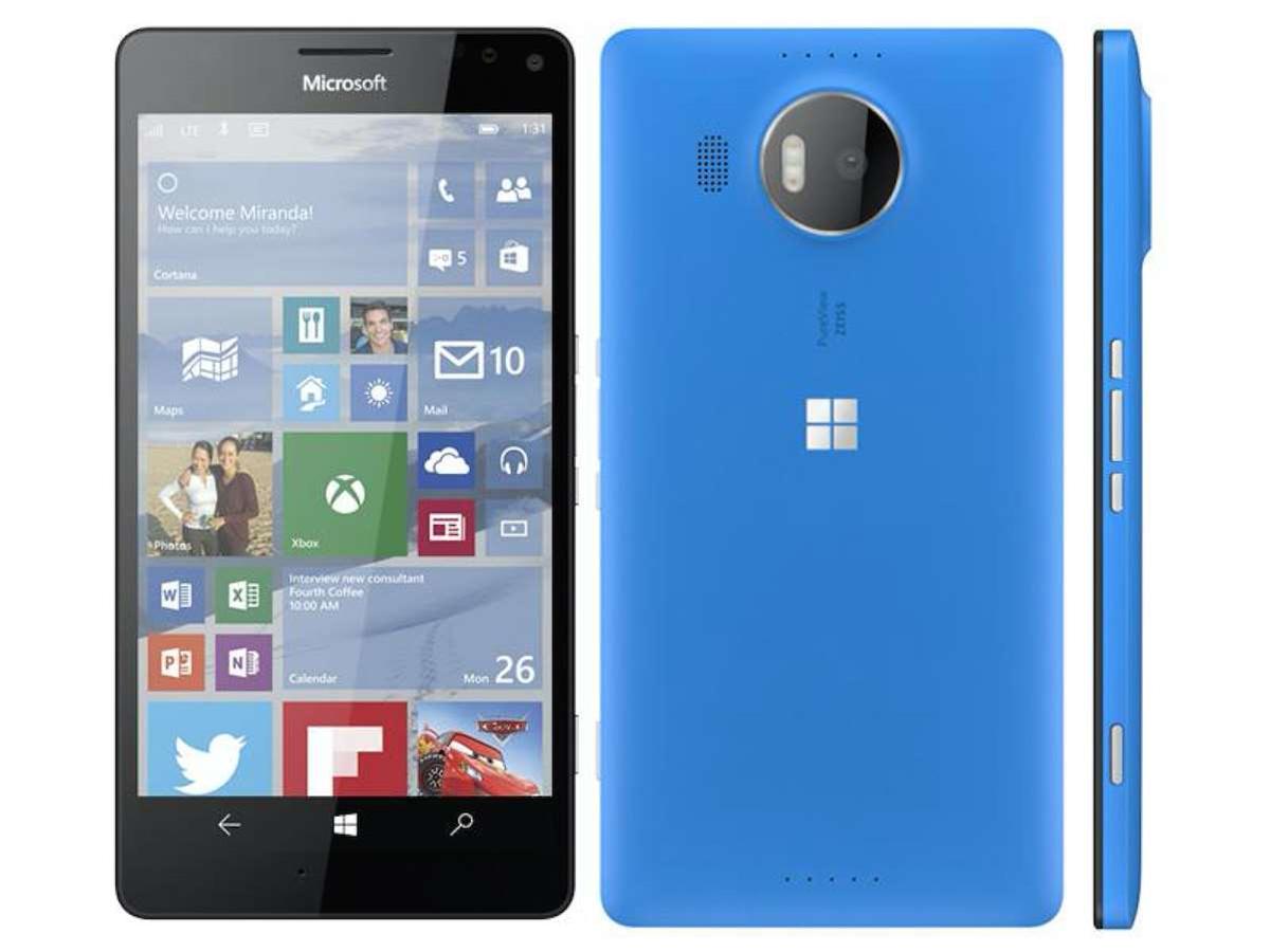 Lumia 950 and 950 XL renders leak