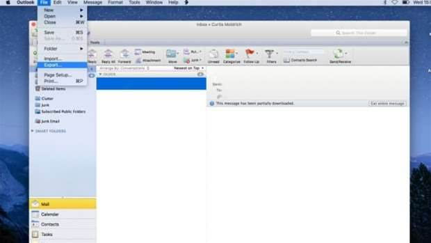 How to save Outlook emails on your hard drive