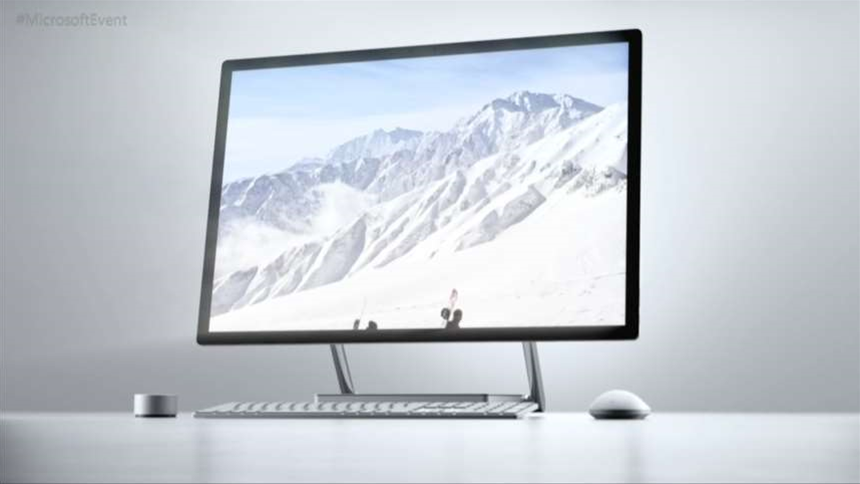 Surface Studio is Microsoft's desktop with a twist