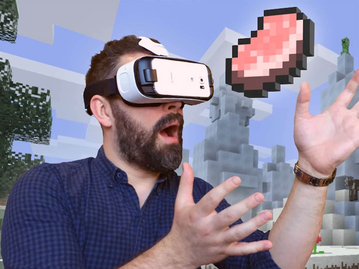 You can play virtual Minecraft right now thanks to the Gear VR release