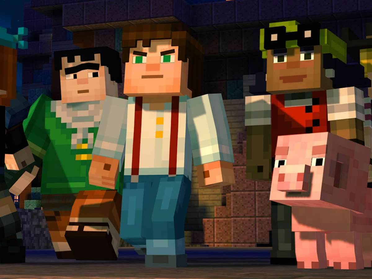 Minecraft: Story Mode builds fiction out of blocks