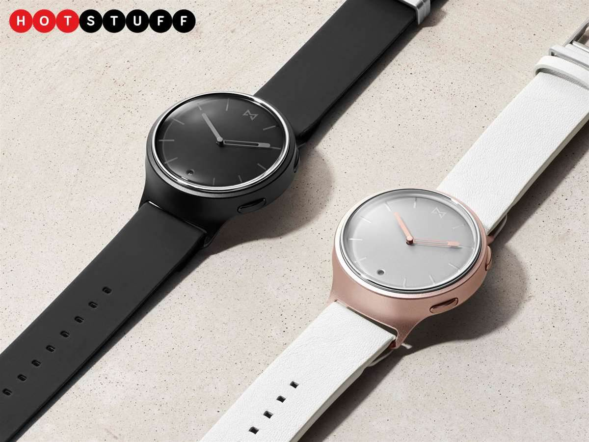 Misfit's debut smartwatch is a real looker