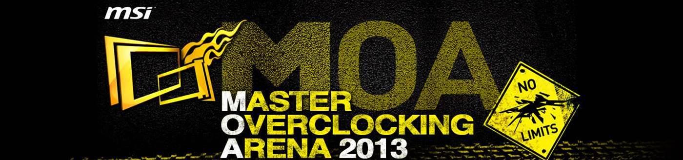 MSI announces 6th annual Master Overclocking Arena event