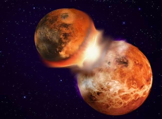 The Moon May Be The Result Of Earth's Collision With Its Long-Lost Twin