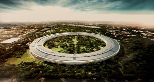 Steve Jobs proposes Apple 'spaceship' HQ