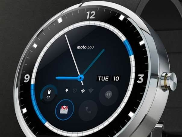 You can now customise the Moto 360's watch faces