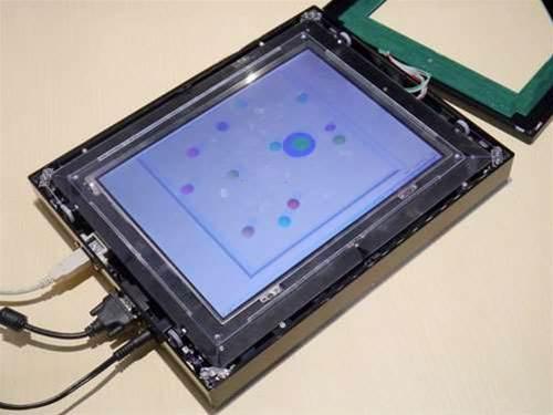 Future tech - moving touchscreens
