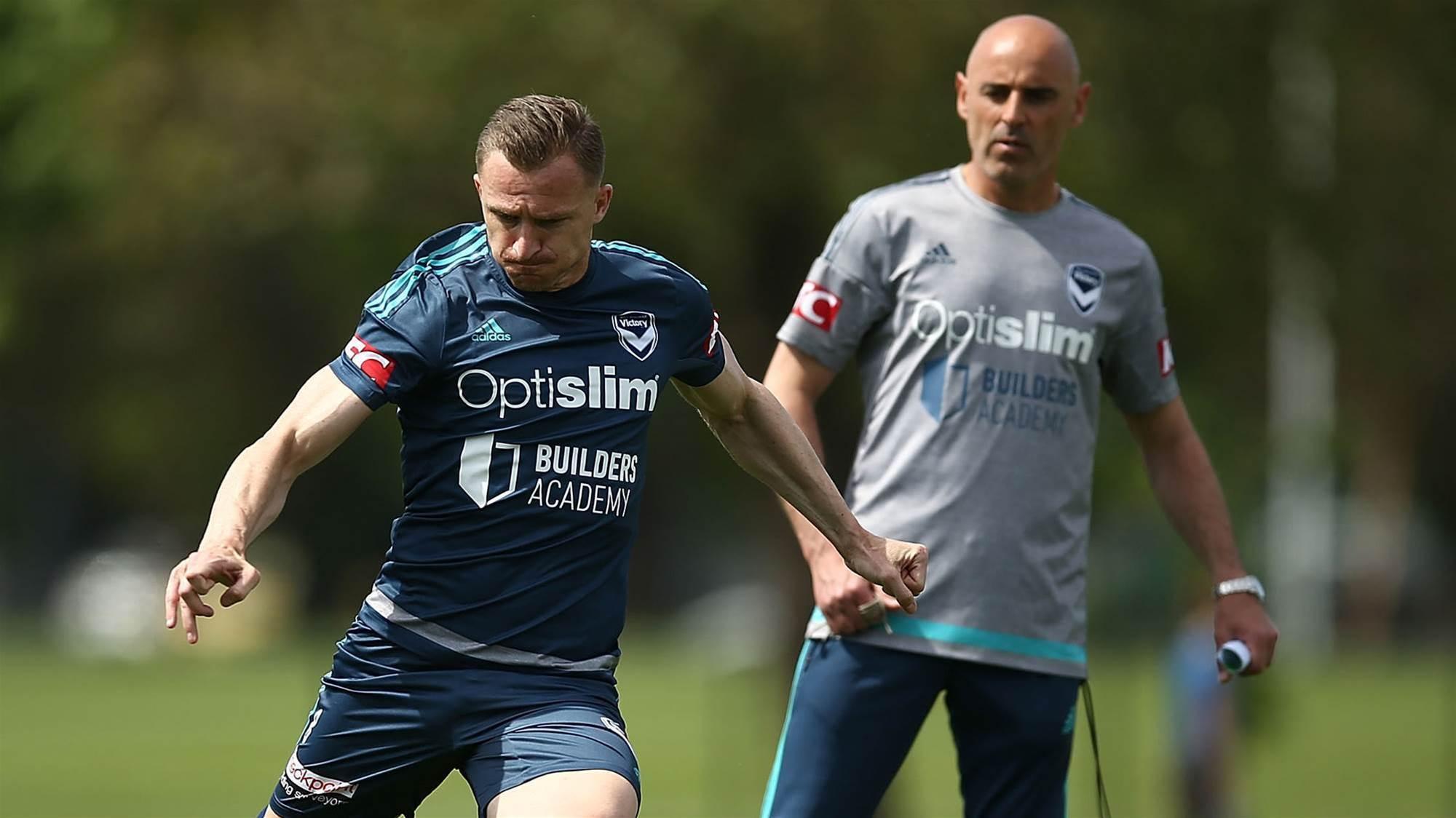Muscat defends 'brilliant' Berisha