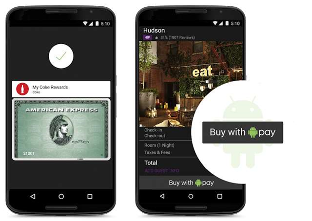 With Android Pay, Google Battles Apple for Our Cashless Future
