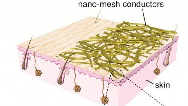 The future of wearables are super-accurate nanoscale sensors worn on the skin like plasters