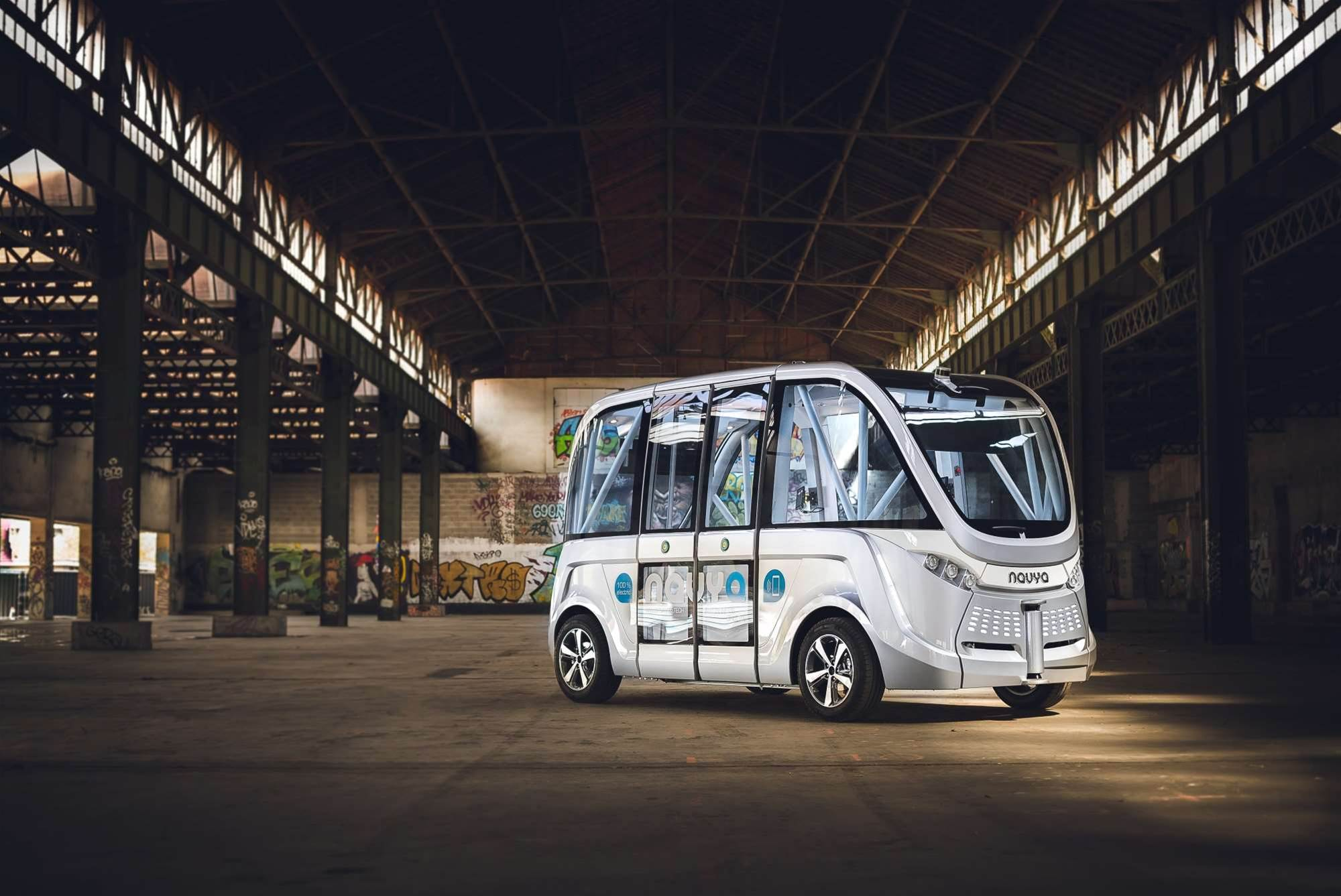 WA to trial driverless bus