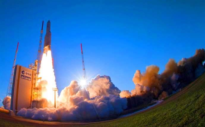 Lift-off for NBN's long-term satellite