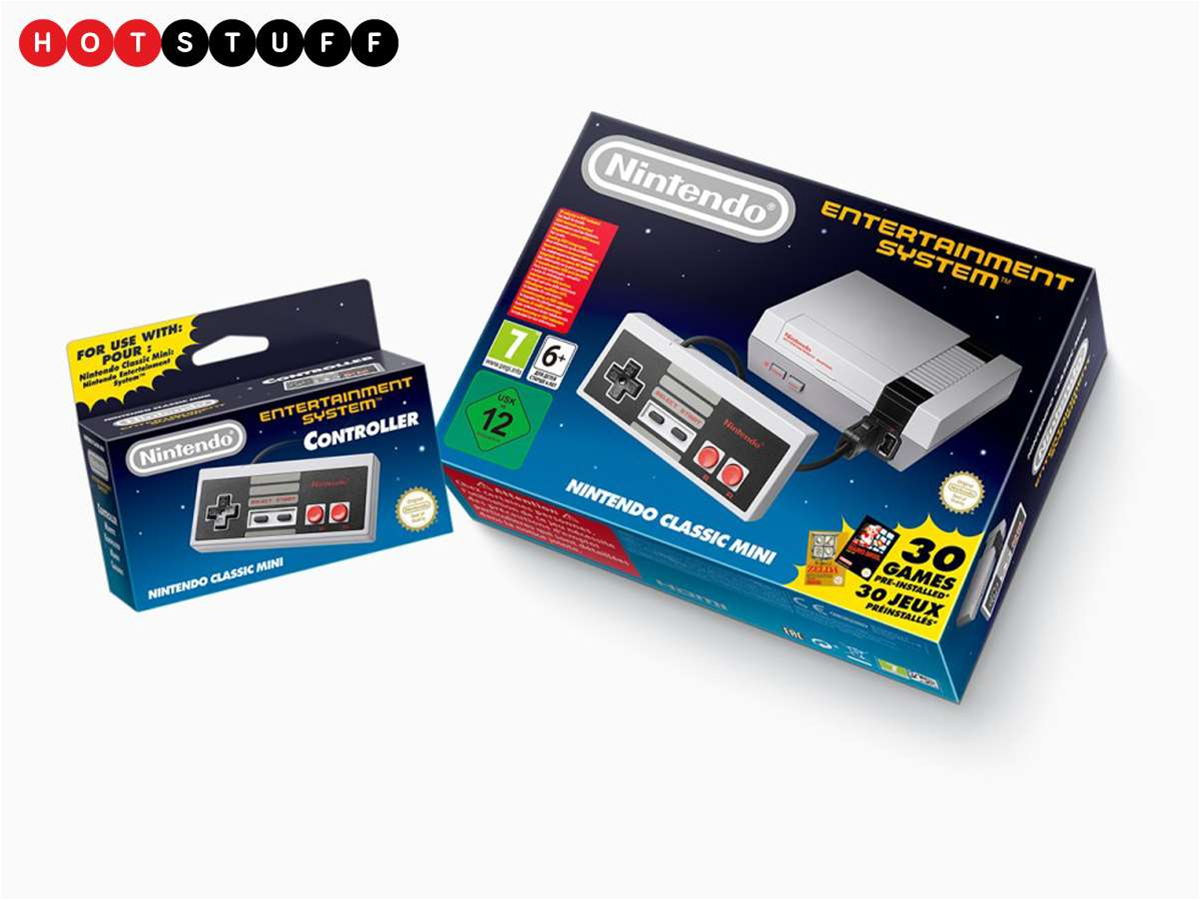 Nintendo's amazing new console is a mini NES with 30 games