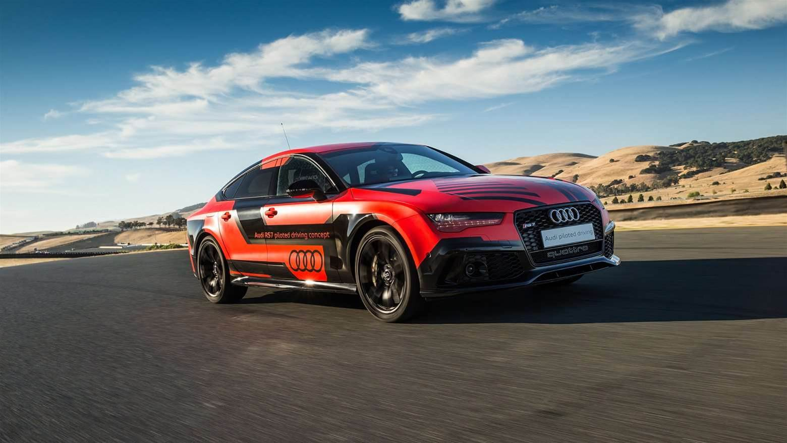 Audi's Autonomous Vehicle Gets Track Days