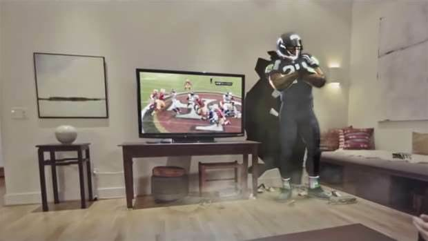 Microsoft wants you to watch the NFL Super Bowl on the HoloLens